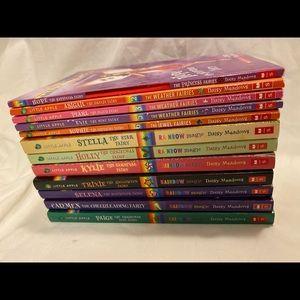 ✨EUC Rainbow Magic Kid's Books (12) & New Bracelet